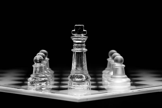 Inner Strength pieces on a playing board abjure stock pictures, royalty-free photos & images
