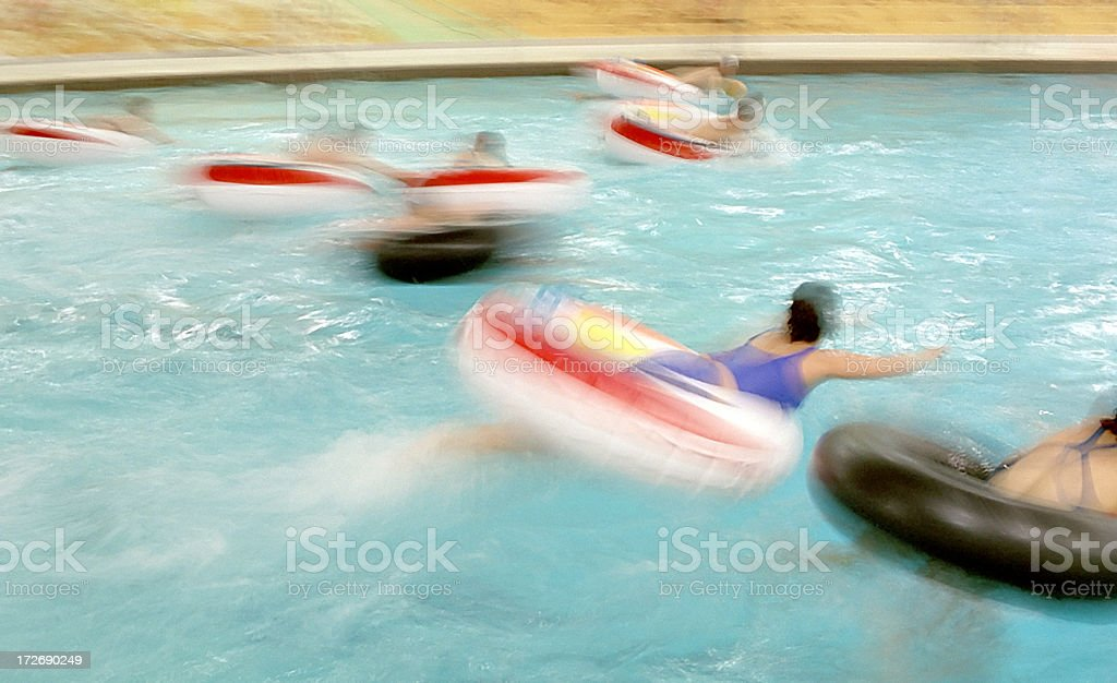 Inner Tube Waterpolo royalty-free stock photo
