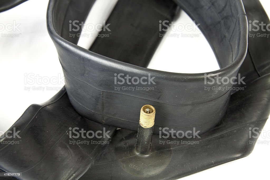Inner tubes for bicycle royalty-free stock photo