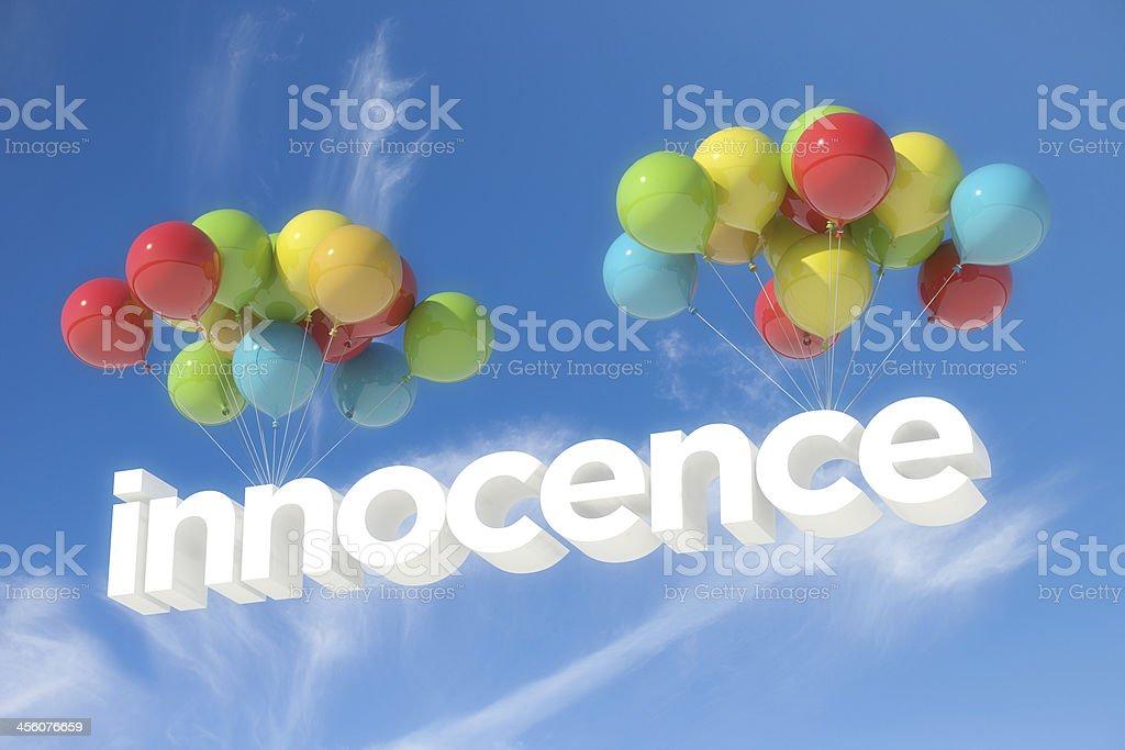Innocence stock photo