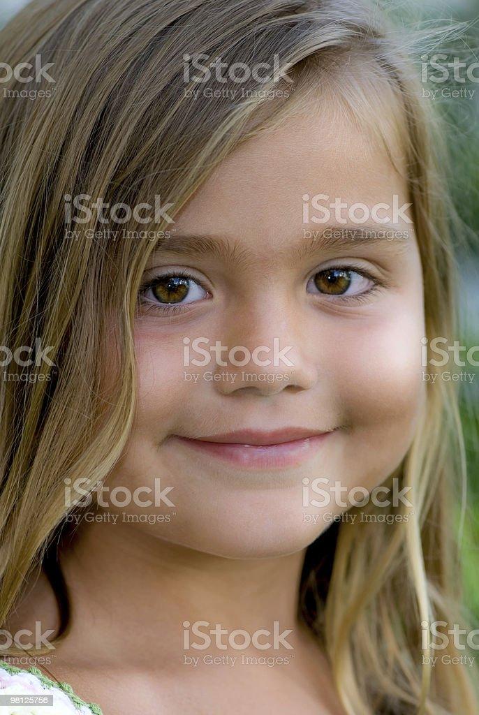 Innocence royalty-free stock photo