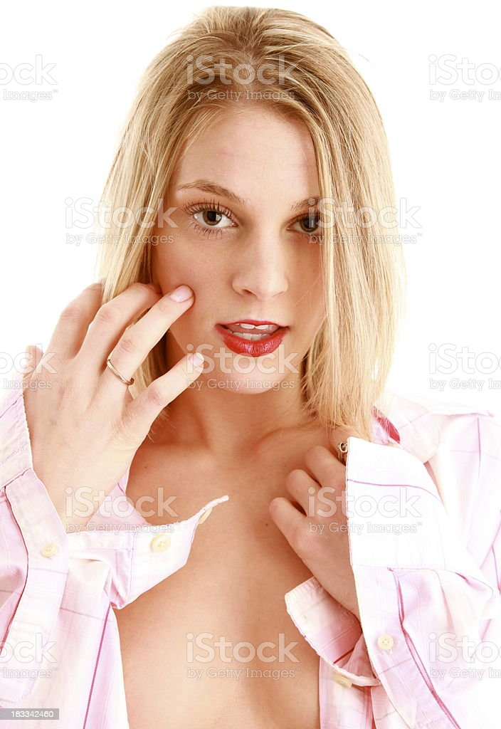 innocent girl royalty-free stock photo