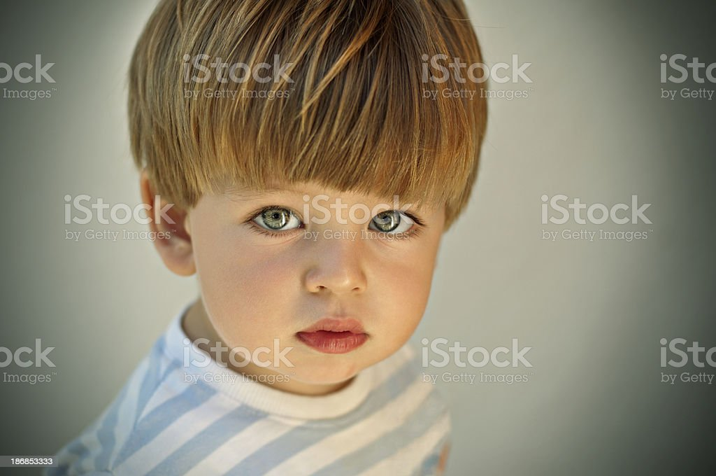 Innocent perception royalty-free stock photo