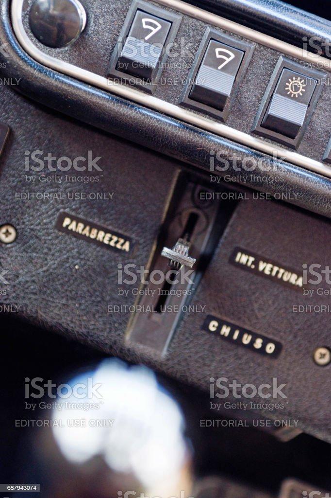 Innocenti Mini Cooper 1300 Export stock photo