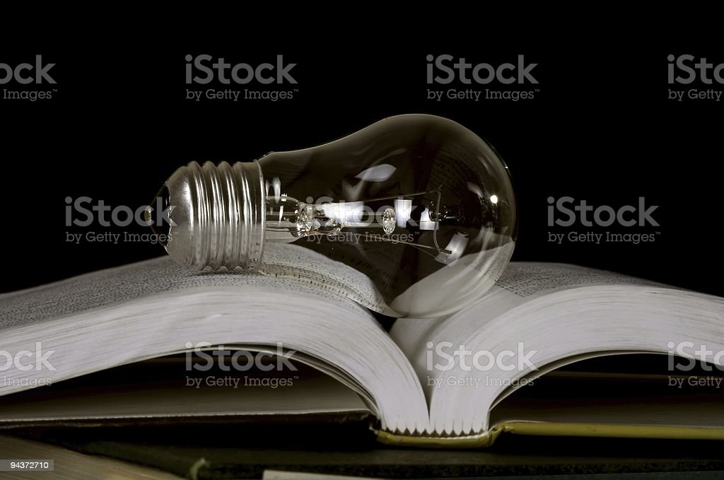 Innovate knowledge royalty-free stock photo