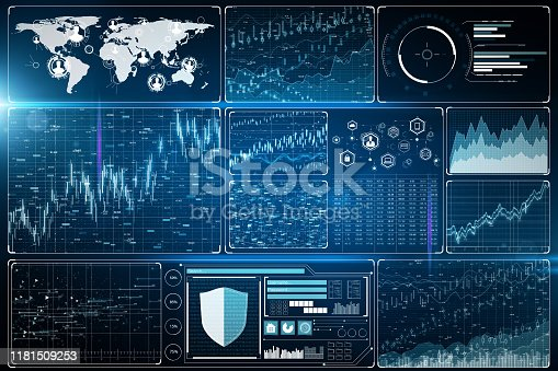 1177116437 istock photo Innovation and finance concept 1181509253