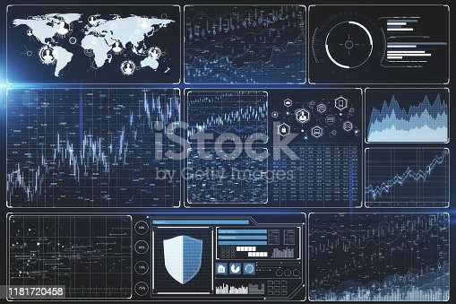 1177116437 istock photo Innovation and finance concept 1181720458