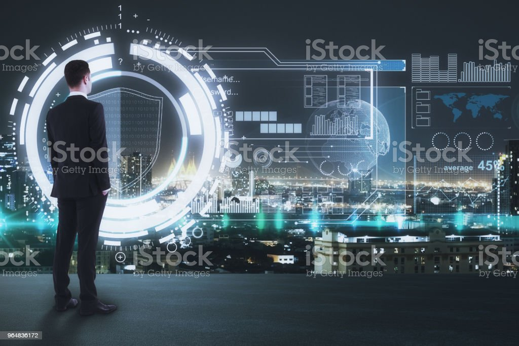 Innovation and future concept royalty-free stock photo