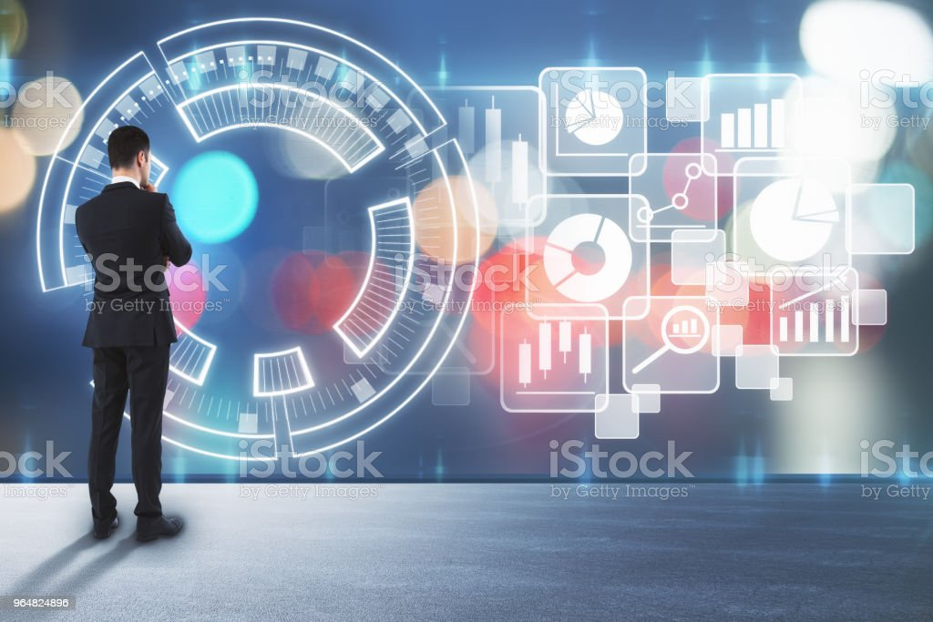 Innovation and media concept royalty-free stock photo