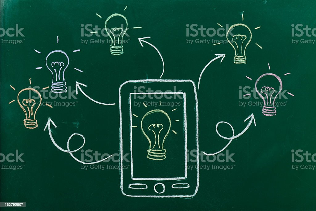 Innovation and technology royalty-free stock photo