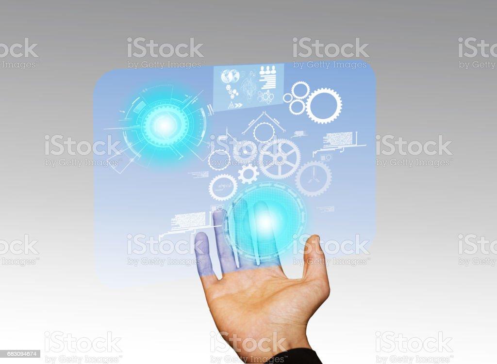 Innovation technology stock photo