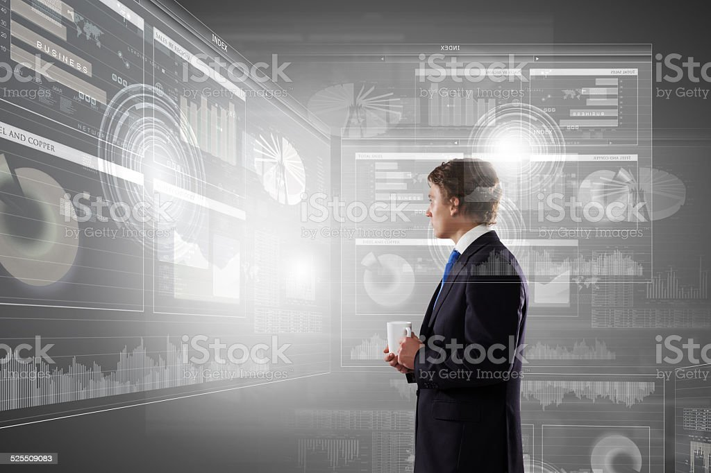 Innovations in business stock photo