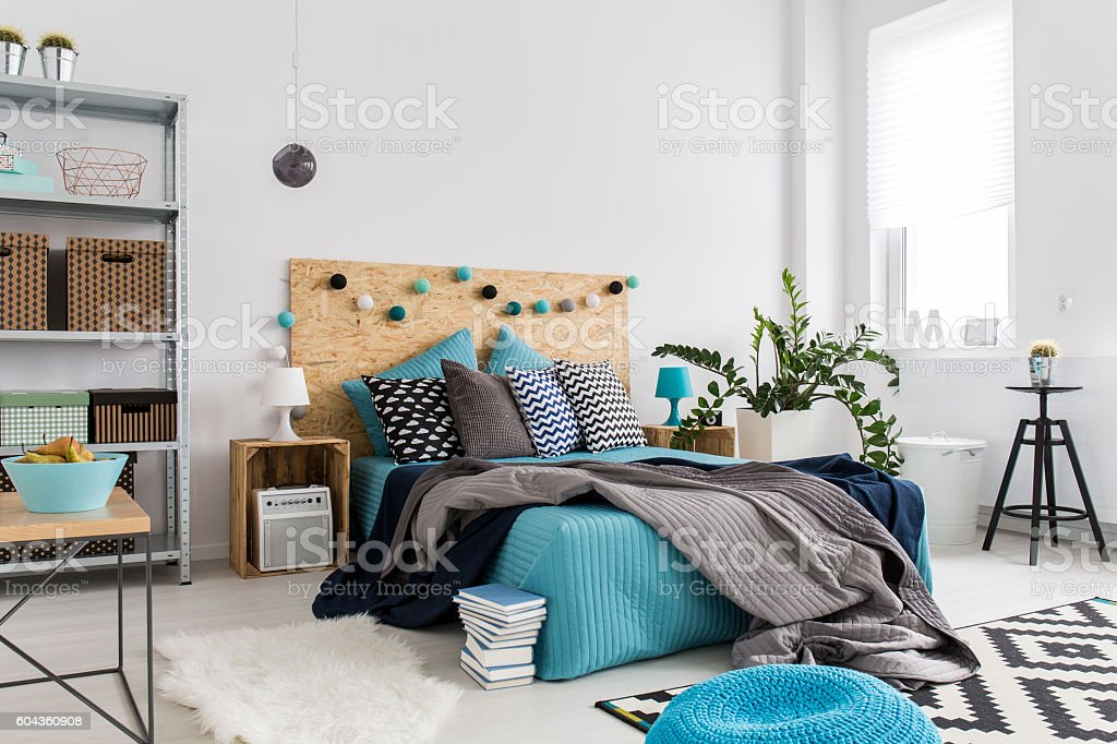 Innovative ideas for a big city's apartment stock photo