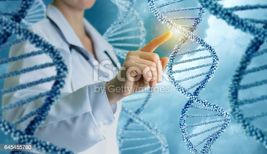 istock Innovative in science and medicine . 645455760