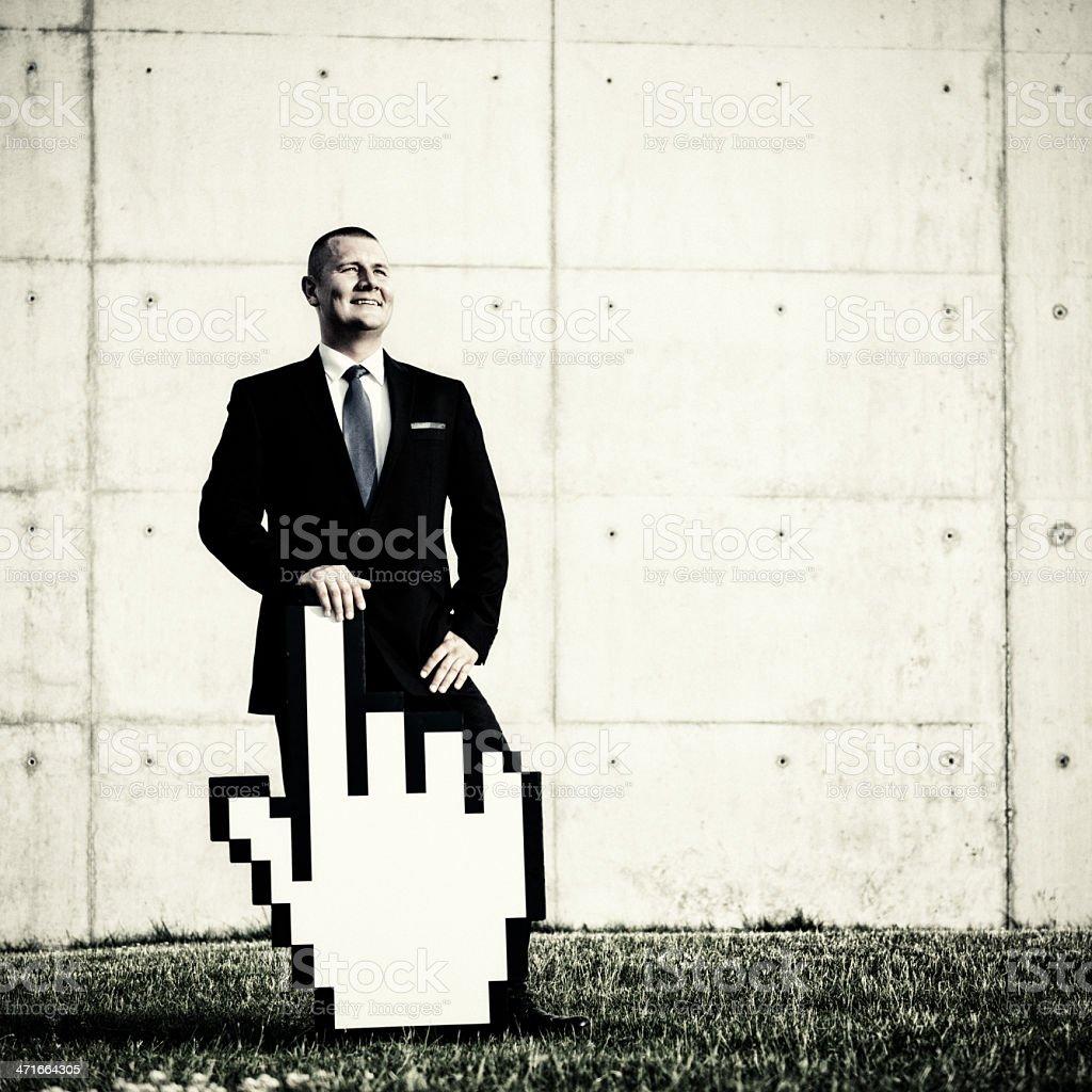 Innovative internet business royalty-free stock photo