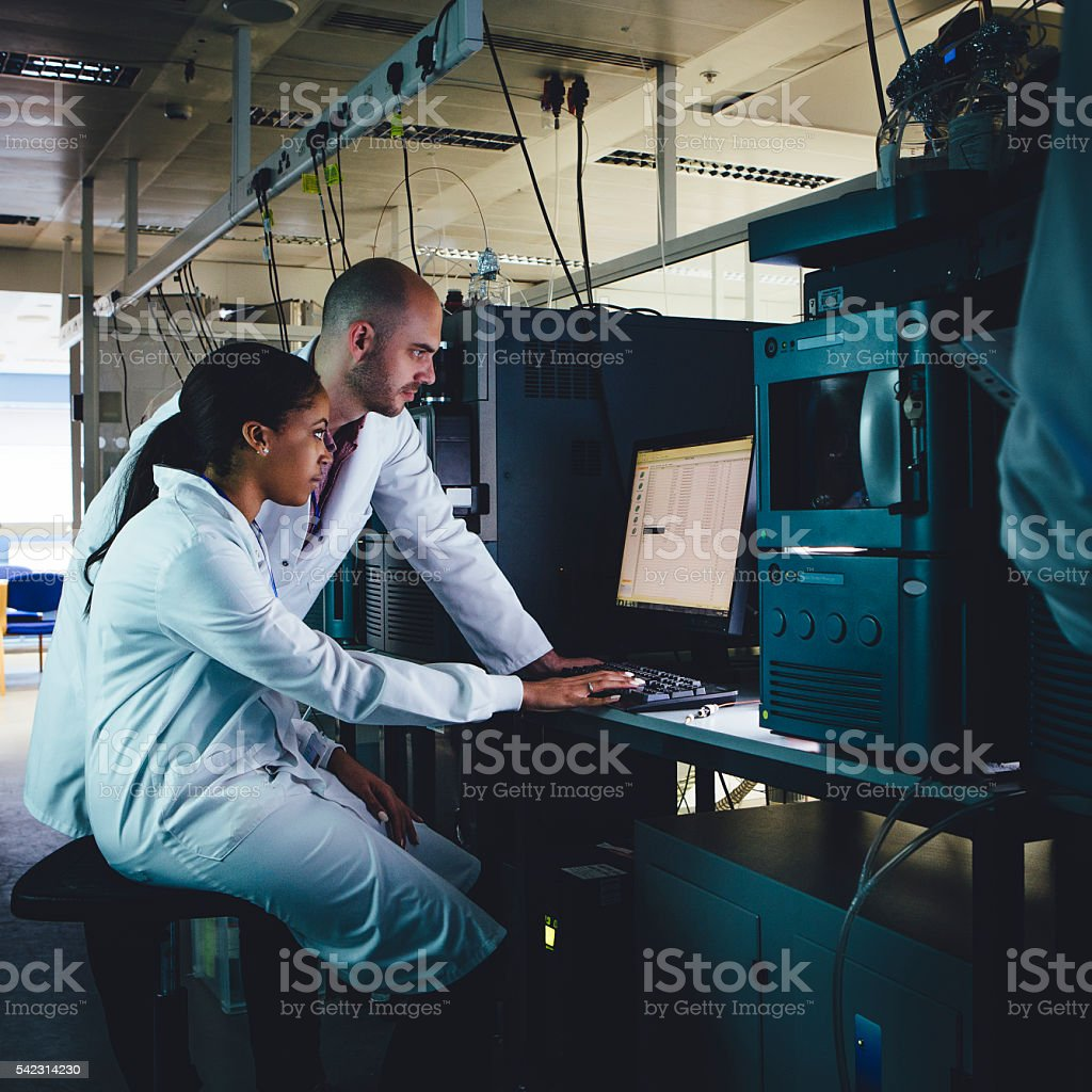 Innovative Research stock photo
