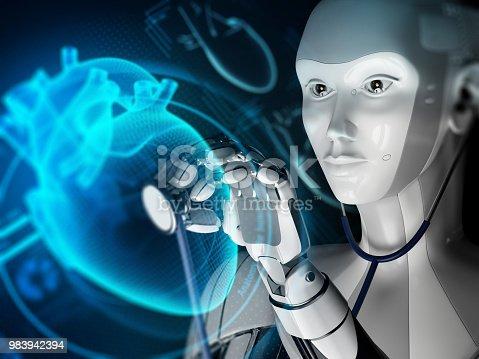 875483824istockphoto Innovative technology in medicine. 983942394