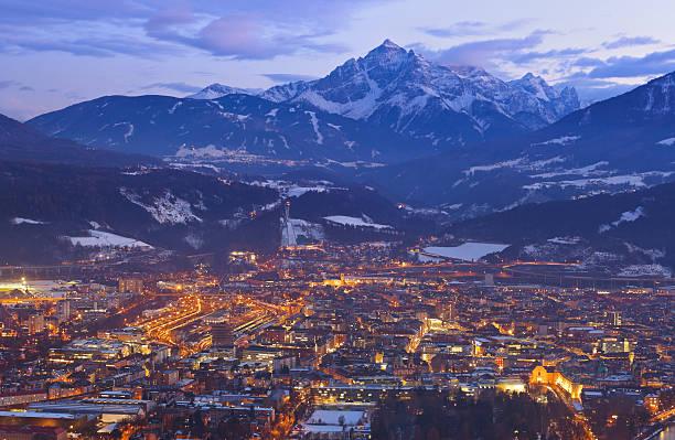 Innsbruck Austria stock photo