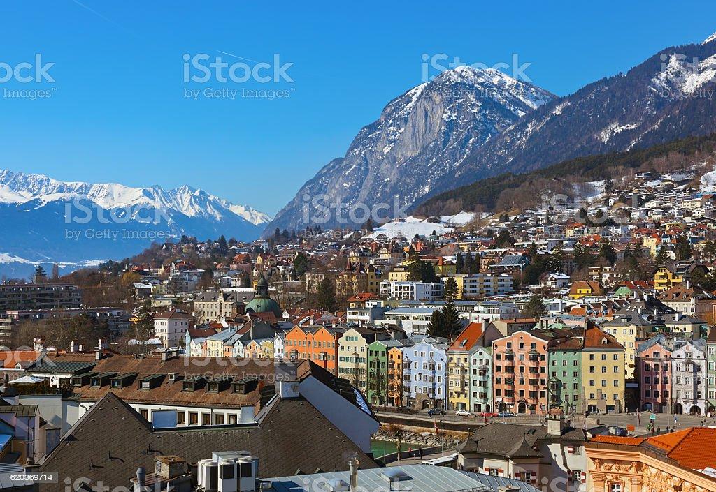 Innsbruck Áustria foto de stock royalty-free