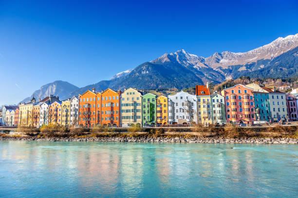 Stadtansicht von Innsbruck, Österreich – Foto