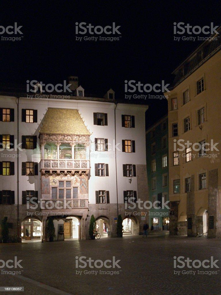 Innsbruck Goldene Dachl royalty-free stock photo