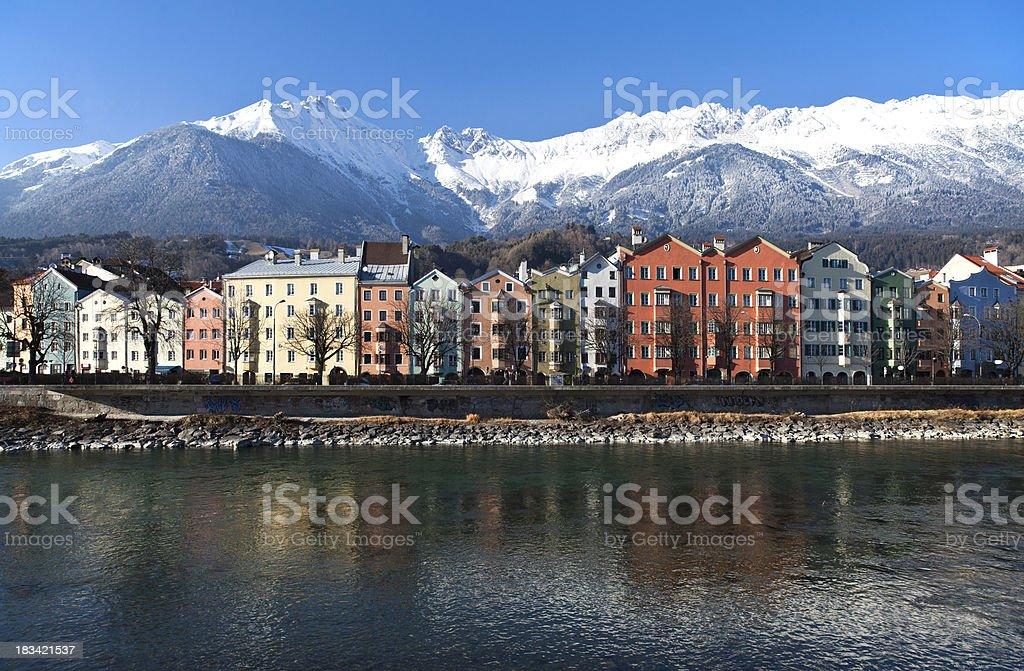 Innsbruck royalty-free stock photo