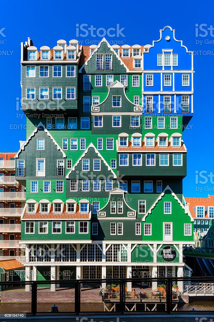Inntel Hotel in Zaandam Netherlands stock photo