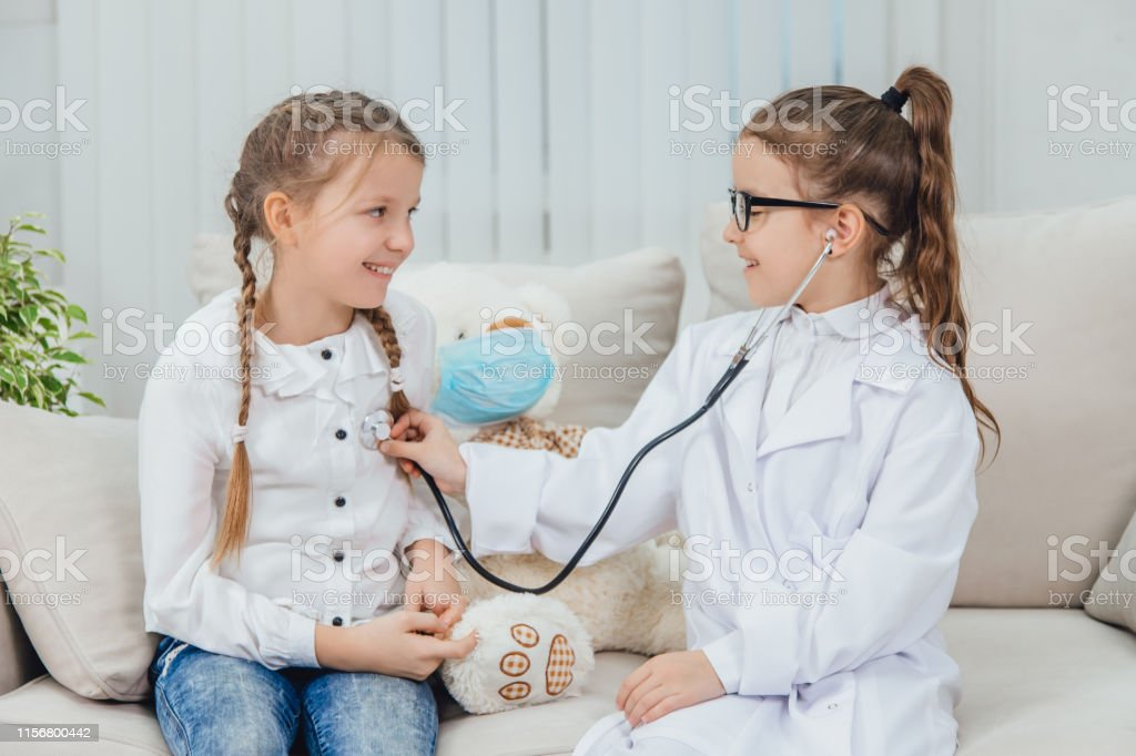 Medicine concept. Childhood and games.