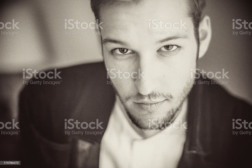 Inquisitive royalty-free stock photo