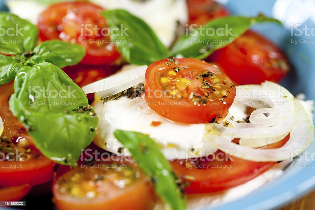 Insalad Caprese stock photo