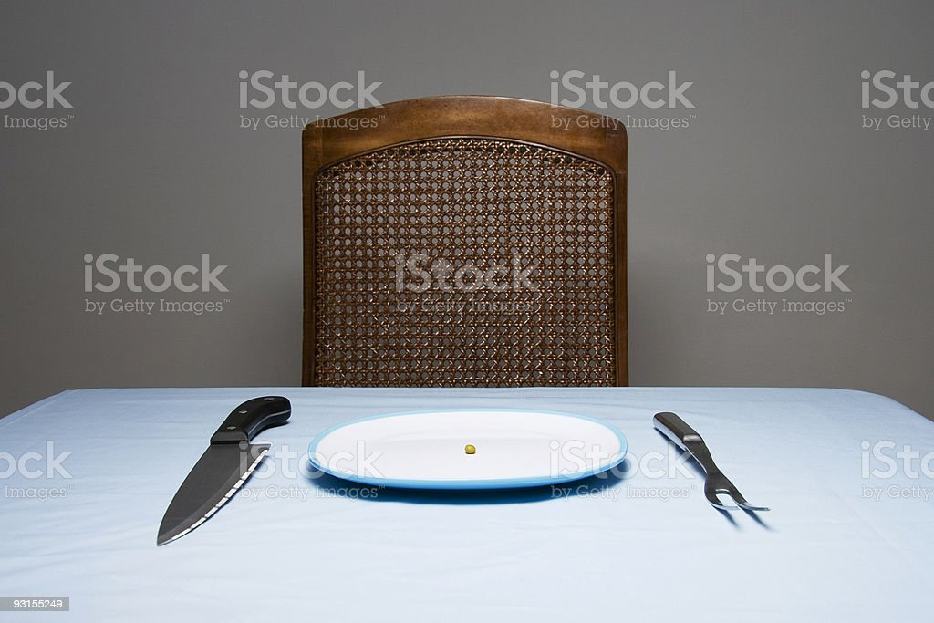 Insane Diet royalty-free stock photo
