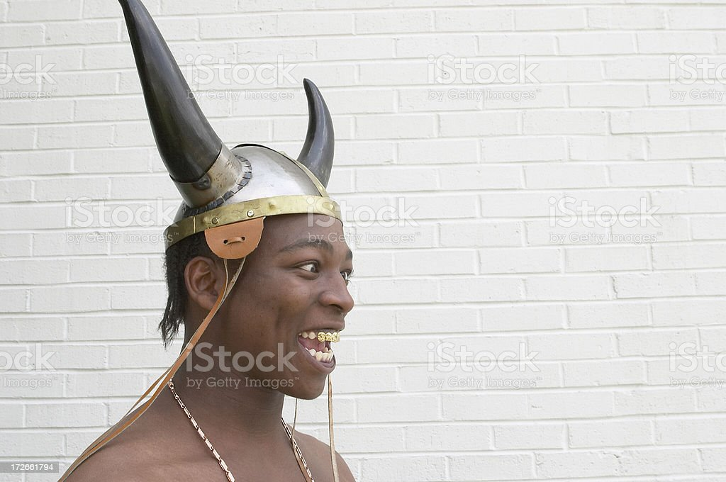 Insane Viking royalty-free stock photo