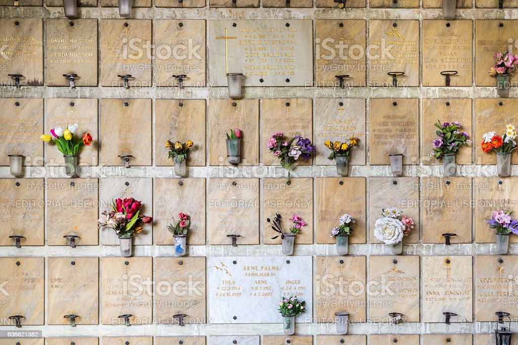 Inscriptions with names and flowers. stock photo