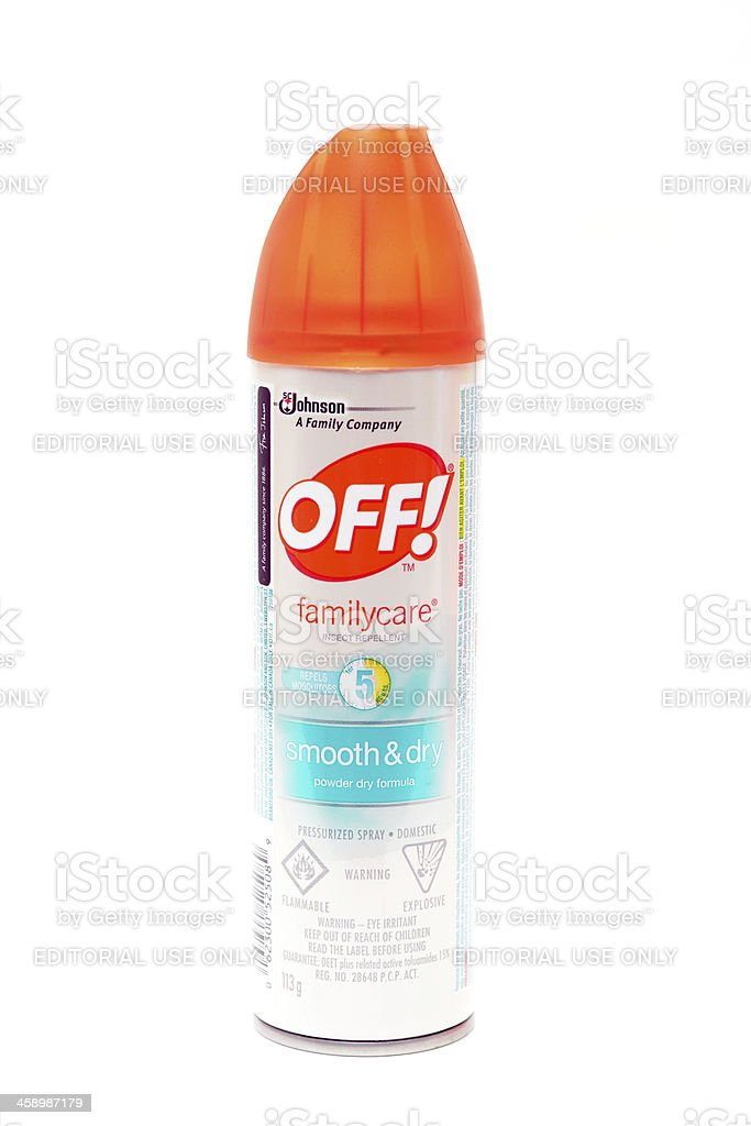 Insect Repellant stock photo