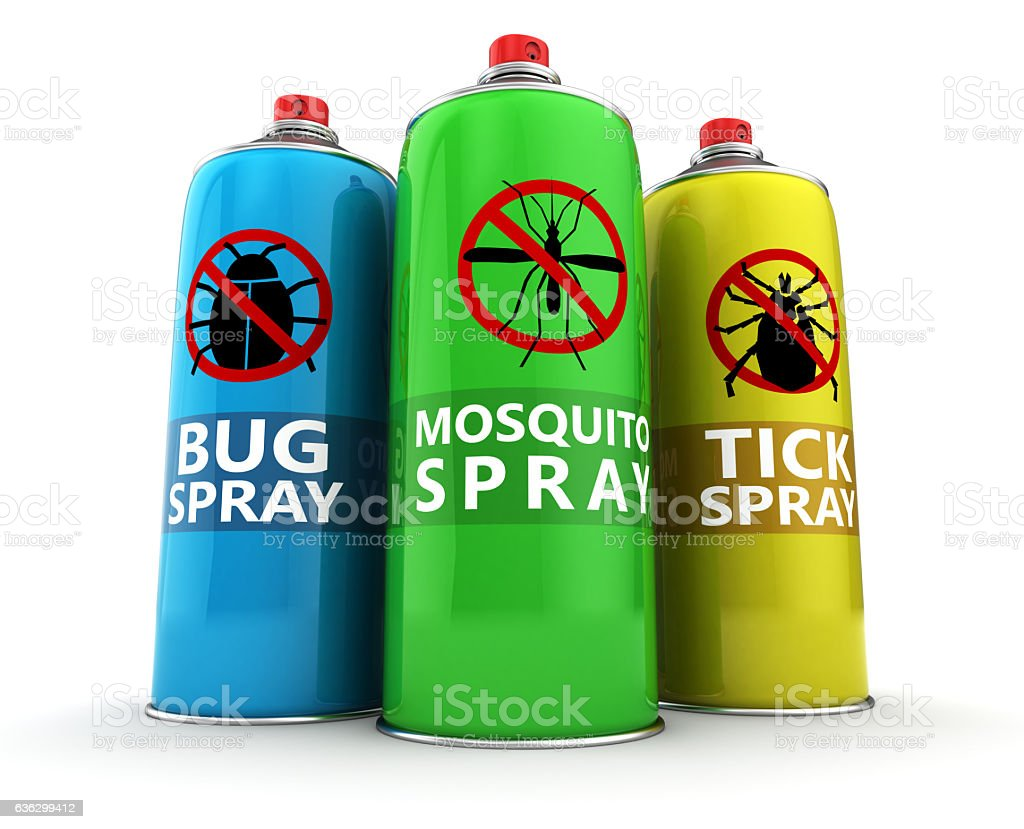 insecticides stock photo