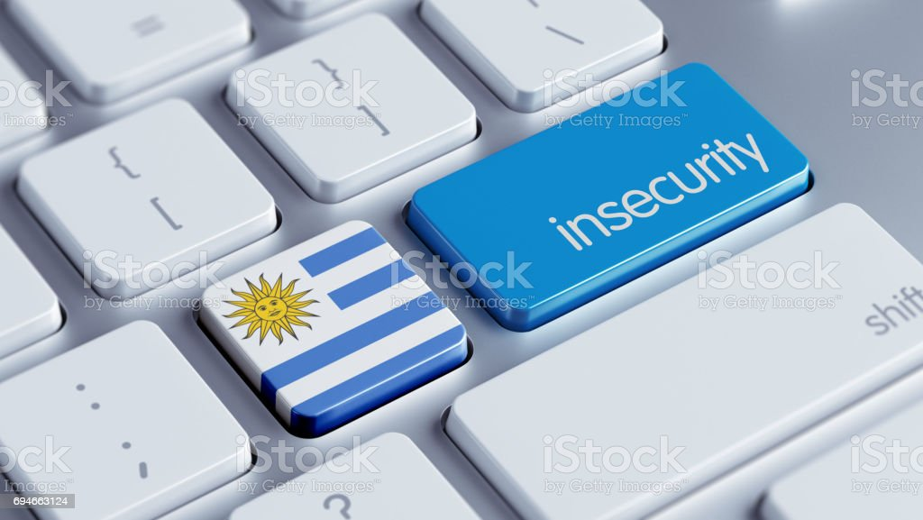 Insecurity Concept stock photo