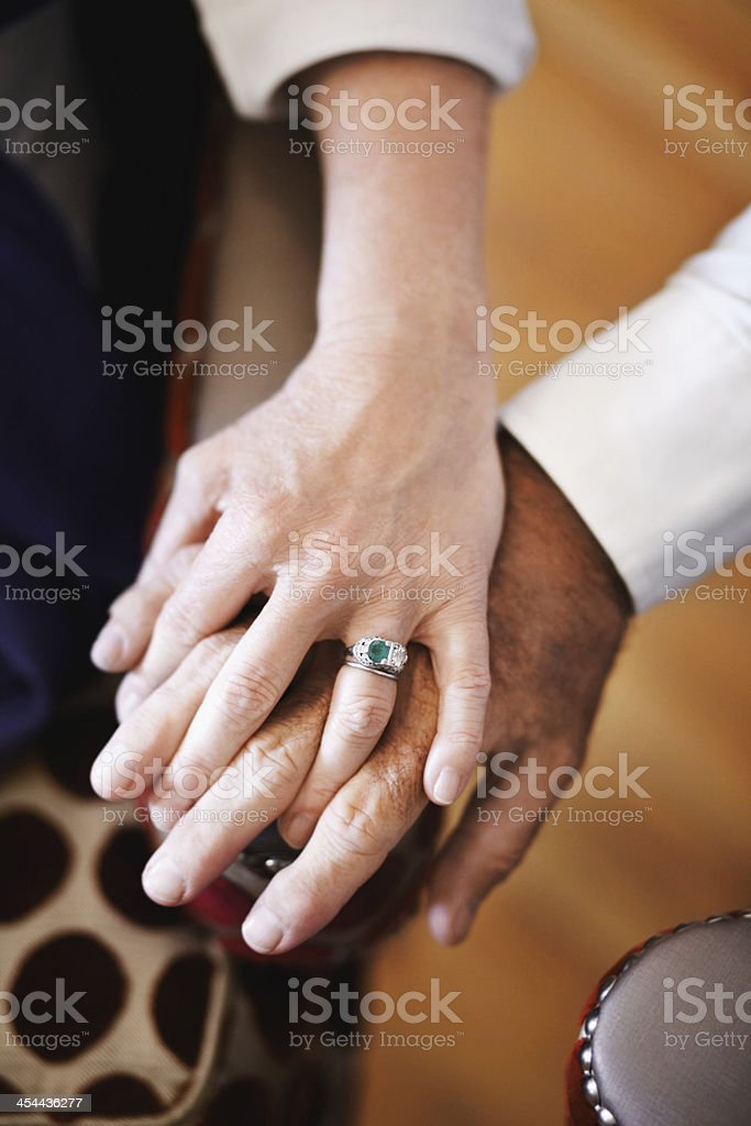 Inseparable royalty-free stock photo