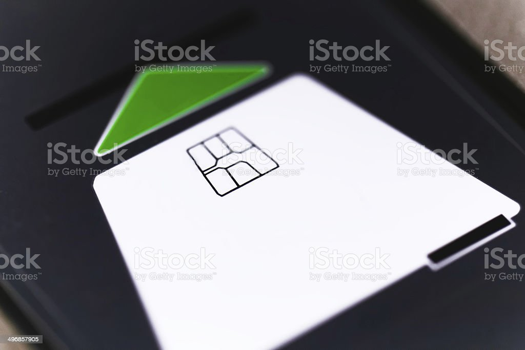 insert card stock photo