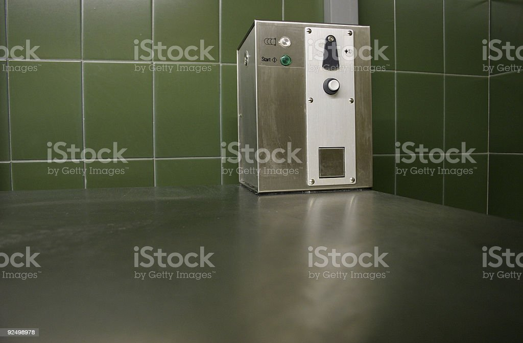 insert coin royalty-free stock photo
