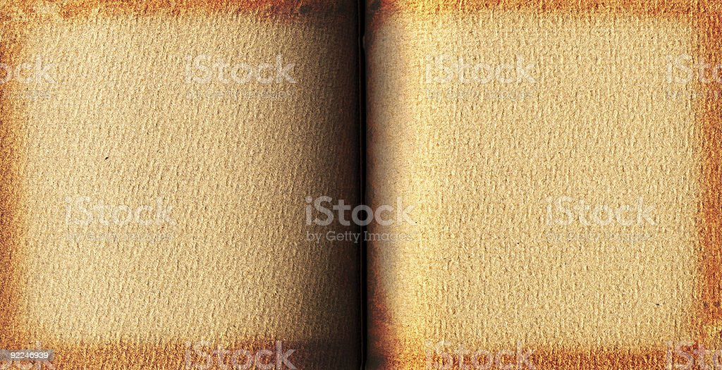 CD insert - Open Book royalty-free stock photo