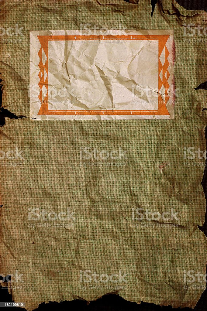 Insert Title Here (Grunge Background) stock photo