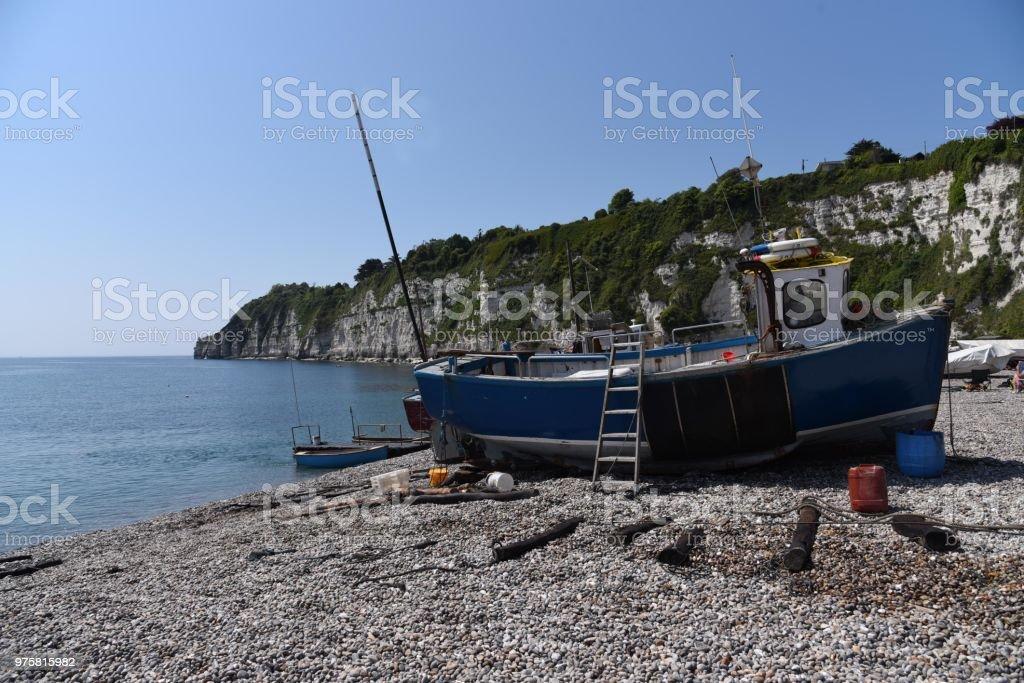 Küstenfischerei-Boot - Lizenzfrei Fischen Stock-Foto
