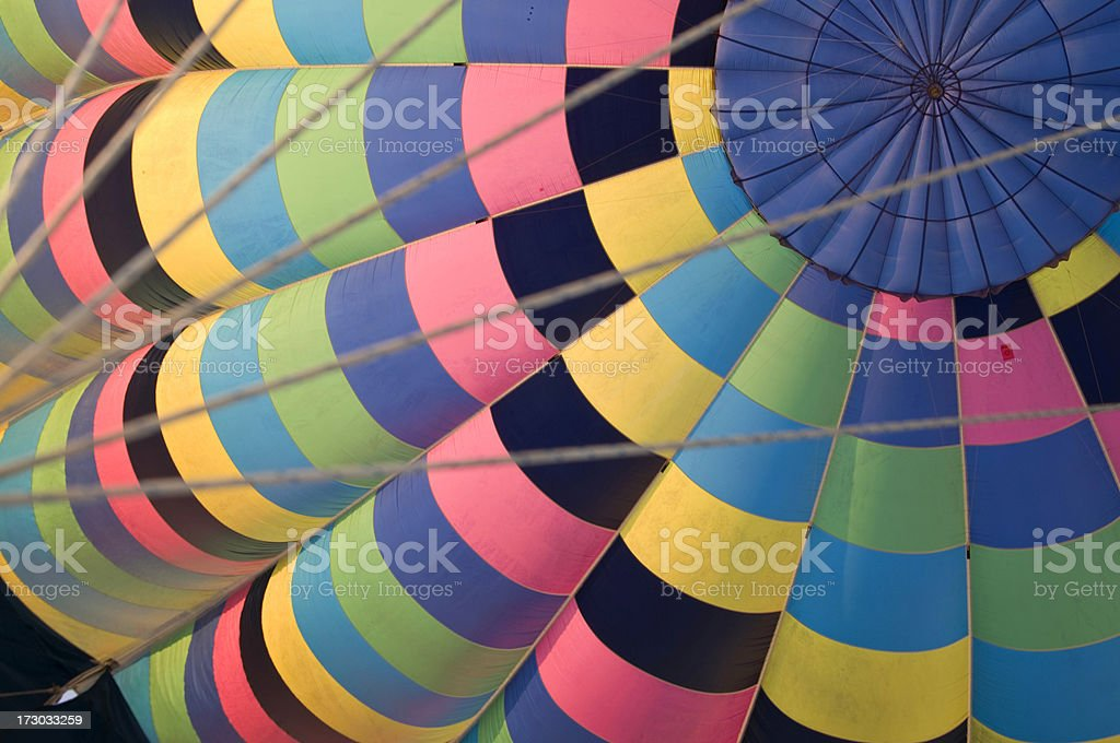 Inside a balloon royalty-free stock photo