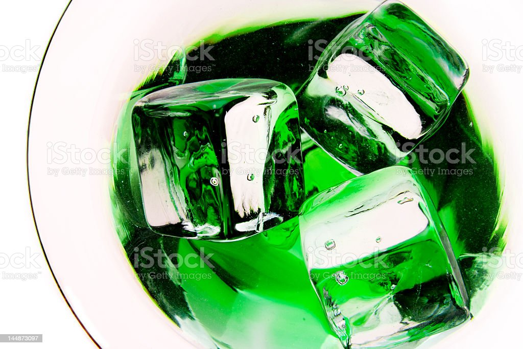 Inside a drink royalty-free stock photo