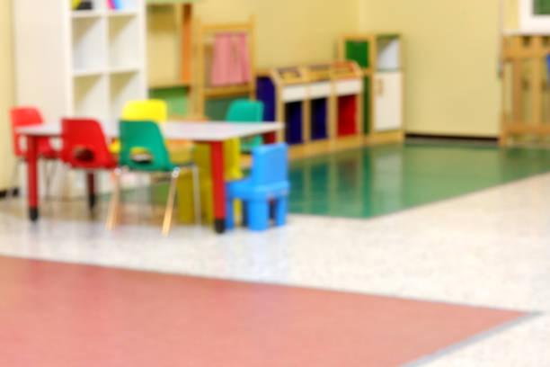 in einem Kindergarten absichtlich aus dem Fokus – Foto