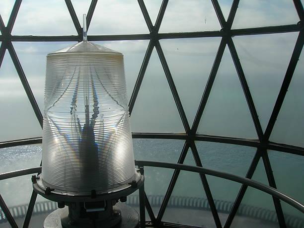 Inside a Lighthouse stock photo