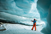 istock Inside an ancient glacial ice cave 1255448703