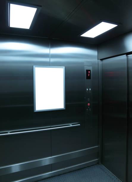 all'interno di un ascensore - ascensore foto e immagini stock