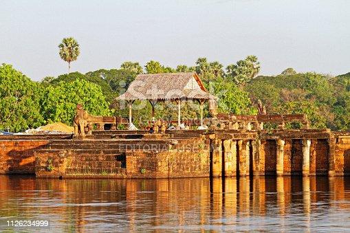 istock Inside Angkor Wat temple area 1126234999