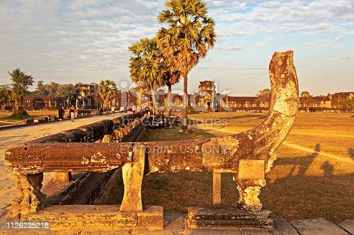 istock Inside Angkor Wat temple area 1126235218